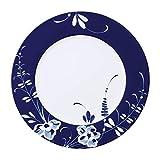 Villeroy & Boch Vieux Luxembourg Brindille, Geschirr aus hochwertigem Premium Porzellan in Blau und Weiß, 30 cm, Platzteller