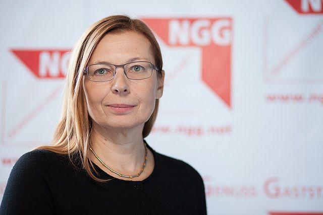 Mindestlohn - Analyse / Michaela Rosenberger (NGG-Vorsitzende)