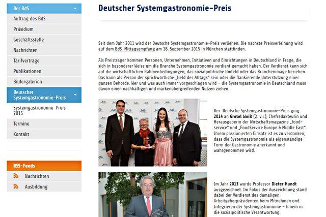 artikelbild_Deutscher Systemgastronomie-Preis