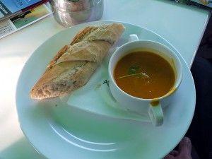 Zu Gast in Recklinghausen - Indische Kürbis-Ingwer-Creme-Suppe