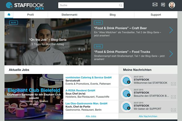 STAFFBOOK.de - die neue Job-Community