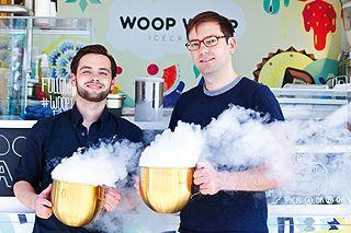 Woop Woop Icecream - Stickstoffdampf