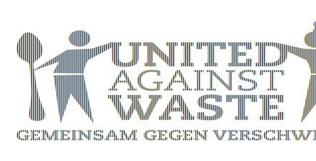 United against waste - Logo