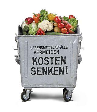 United against waste - Mülltonne
