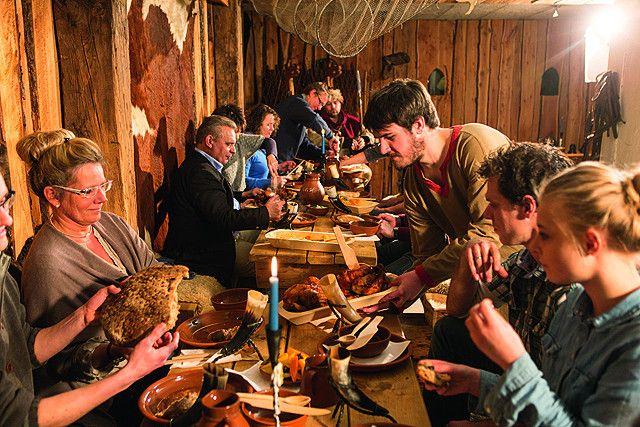 Wikingermahl in der Wikingerschänke in Busdorf