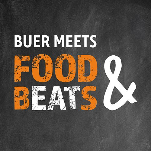 Buer meets Food & Beats - Logo