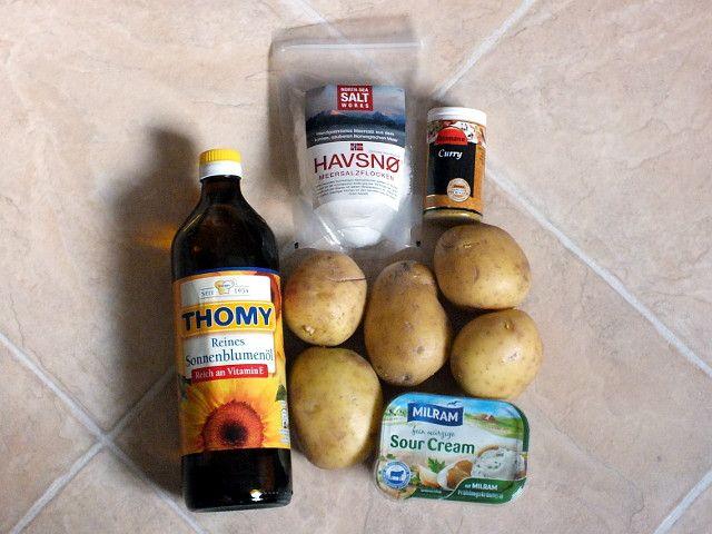 Kartoffelecken – Zutaten