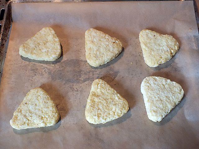 Kartoffelrösti Camembert – gefrorene Röstis