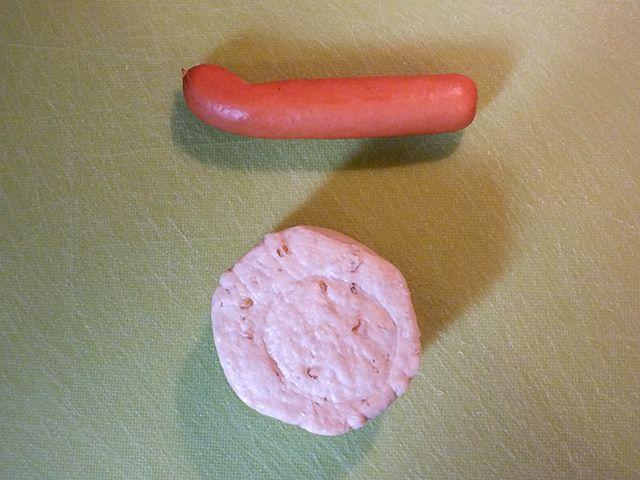 Würstchen im Backteig - Brötchen und Würstchen