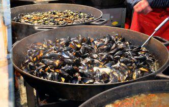 Muschel- und Backfischfest - Muschelpfanne