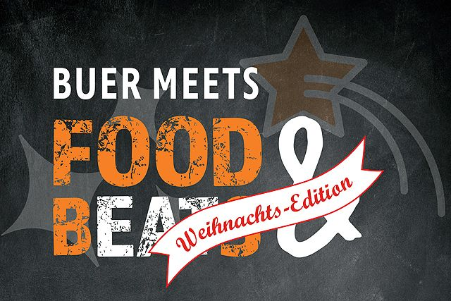 Buer meets Food & Beats Weihnachts-Edition - Logo