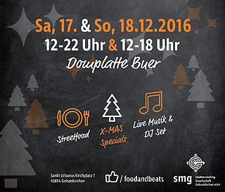 Buer meets Food & Beats Weihnachts-Edition - Poster