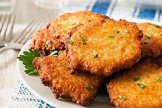 Gas-Fritteusen - Kartoffelpuffer