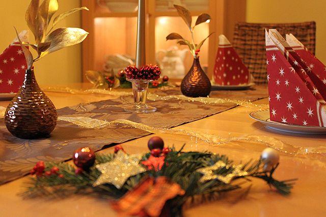 Weihnachtsdeko - Servietten