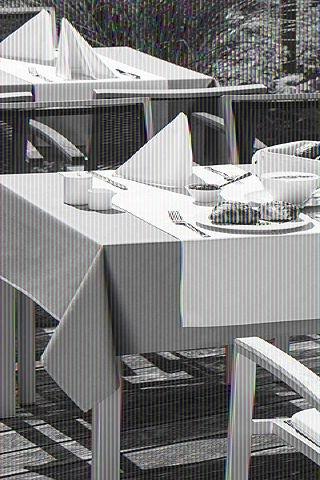 Wäschekrone - Outdoor-Tischwäsche