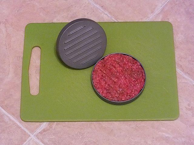 Burger - Presse aus Aluguss