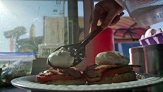 Street Food - Eggs á la Benedict