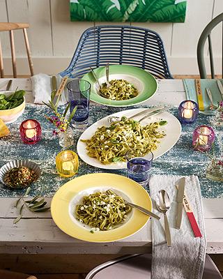 Coloured Delight - Tischdekoration