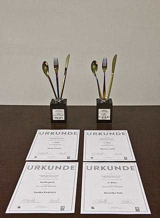 Design-Kooperation proHeq GmbH und Hochschule Pforzheim - Pokale