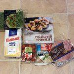 Pizzablumen & Pinwheels - Zutaten