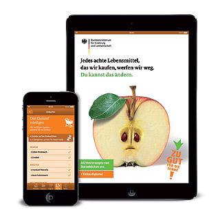 App hilft gegen Lebensmittel-Verschwendung