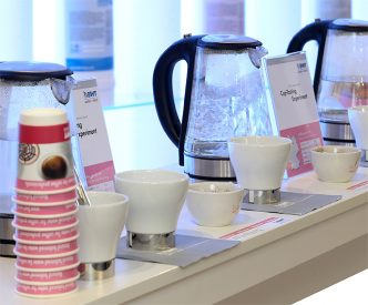 BWT Wasser - Cup-Tasting-Experiment