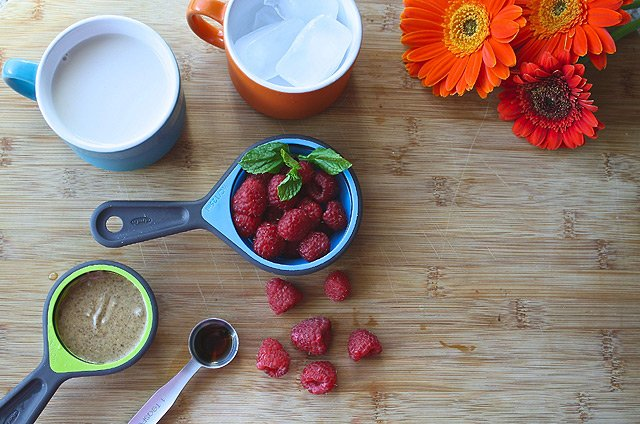 Superfoods - Himbeeren - Smoothie