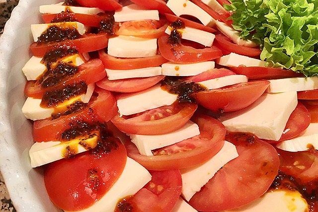 Mediterrane Küche - Tomate und Mozzarella