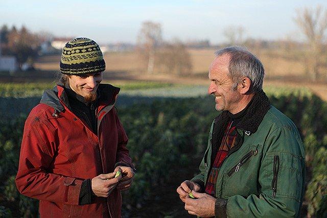 Generationswechsel auf dem Bauernhof