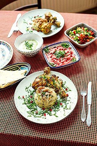 Chickpeace - Speisen