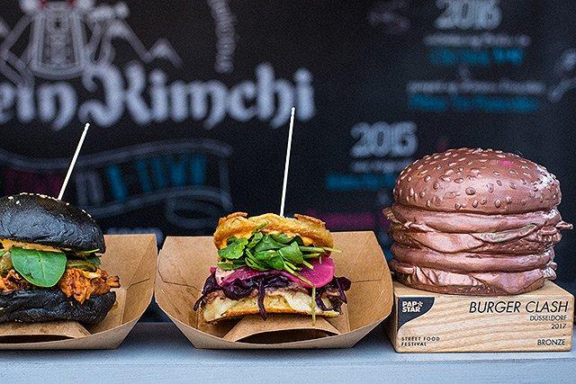 Street Food Festival - Burger mit Papstar pure Burgerbox