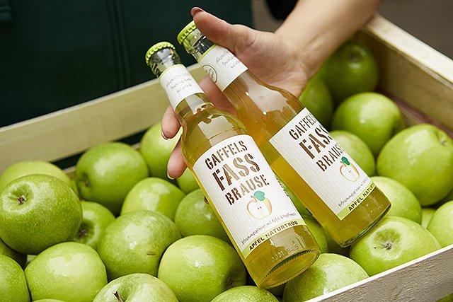 Gaffels Fassbrause Apfel