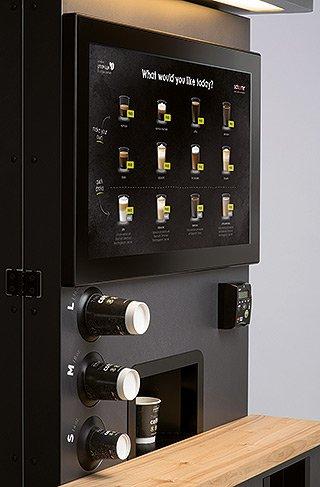 Schaerer Premium Coffee Corner - Detailansicht