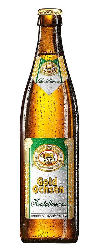 Brauerei Gold Ochsen - Kristallweizen