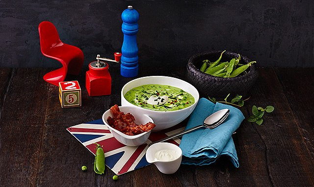 Villeroy & Boch - Soup Passion - Erbsensuppe