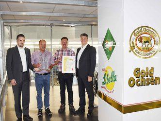 Brauerei Gold Ochsen - Libella Quality Gold Award