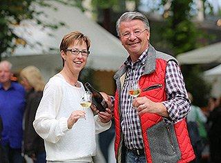 Stadtparkfest - Herr und Frau Bierwirth
