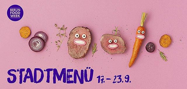 Berlin Food Week 2018 - Stadtmenu