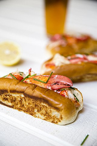 Berlin Food Week 2018 - Connecticut Lobster Roll