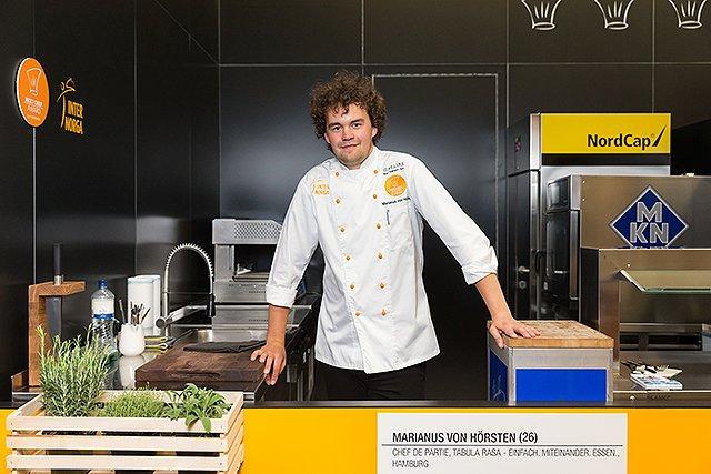 INTERNORGA Next Chef Award - Marianus von Hörsten