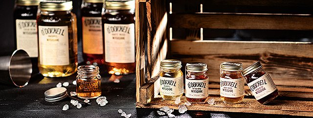O'Donnell Moonshine - Mini Moonshine Jars