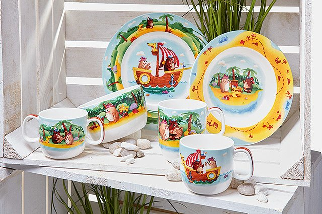 Villeroy und Boch - Chewys Treasure Hunt - Kiddy Collection