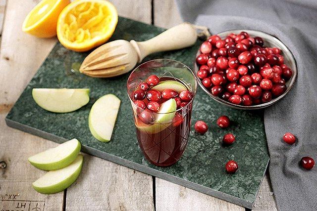 Cranberry Coca-Cola Sangria - Mariella Lahodny
