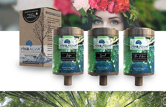 Riva Alva - bioganische Wasserfilterkartuschen