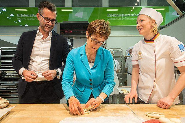 Deutsche Innungsbäcker - Annegret Kramp Karrenbauer