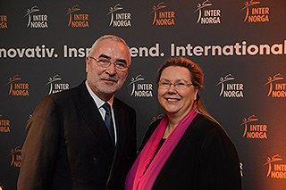 INTERNORGA - Bernd Aufderheide und Karin Tischer