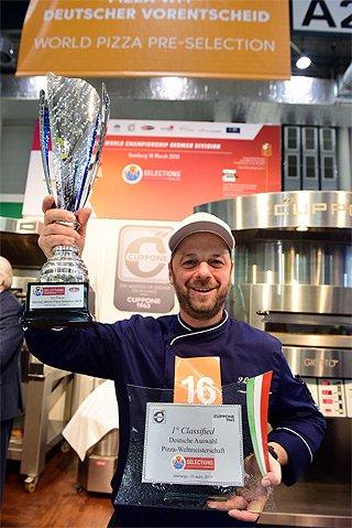 Gewinner Deutscher Vorentscheid Pizza-WM - Pasquale Corvaglia