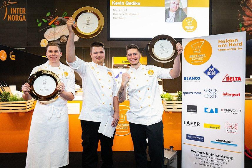 INTERNORGA 2019 - Gewinner Next Chef Award