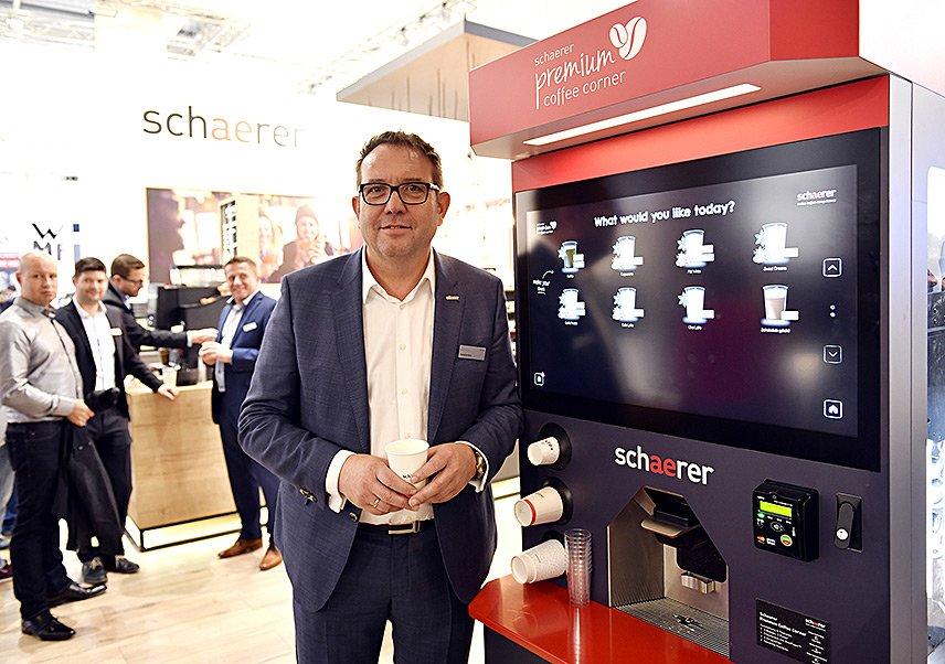 Schaerer Premium Coffee Corner 2019 - Hansjürg Marti