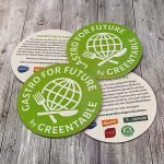 Greentable - GastroforFuture - Bierdeckel